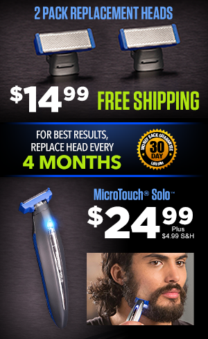 Order MicroTouch® Solo™ Replacement Heads Today!